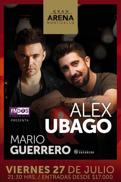 Alex Ubago y Mario Guerrero en Gran Arena